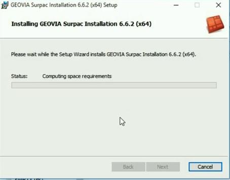 Install Geovia Surpac v6.6.2 64 bit