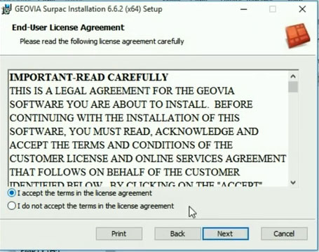 License Aggrement Geovia Surpac v6.6.2 64 bit Crack