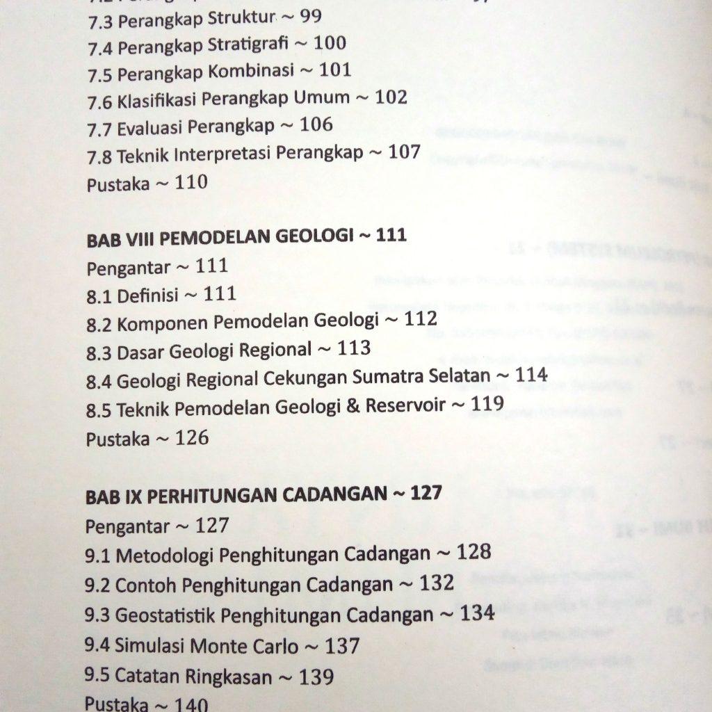 Daftar Isi Geologi, Minyak dan Gas Bumi
