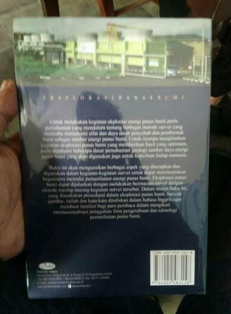 Buku Geologi Eksplorasi Panas Bumi Karya Untung Sumotarto