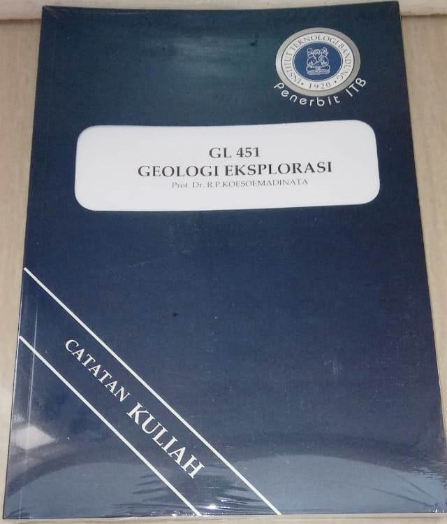 Buku Geologi Eksplorasi R.P. Koesoemadinata ITB Press
