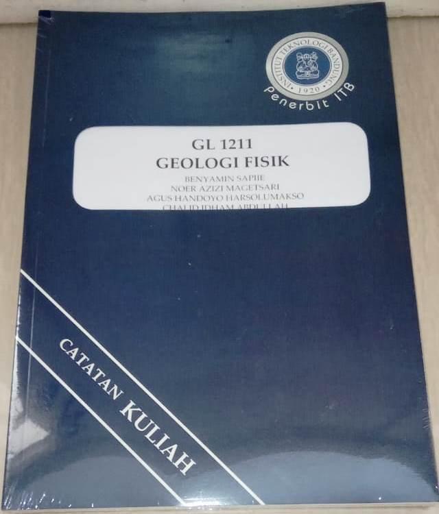 Buku Geologi Fisik Benyamin Sapiie, Noer Aziz Magetsari ITB Press