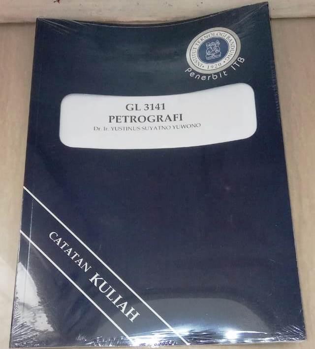 Buku Petrografi Yustinus Suyatno Yuwono ITB Press