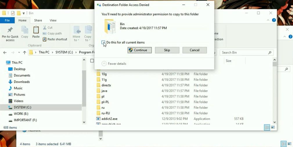 Minescape-Destination_Folder