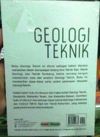 Buku Geologi Teknik Karya Didi S. Agustawijaya