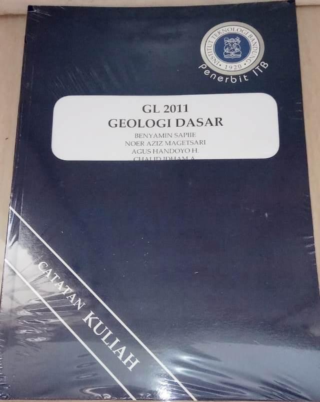 Buku Geologi Dasar Benyamin Sapiie, Noer Aziz Magetsari ITB Press