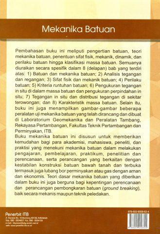 Buku Mekanika Batuan Penerbit ITB