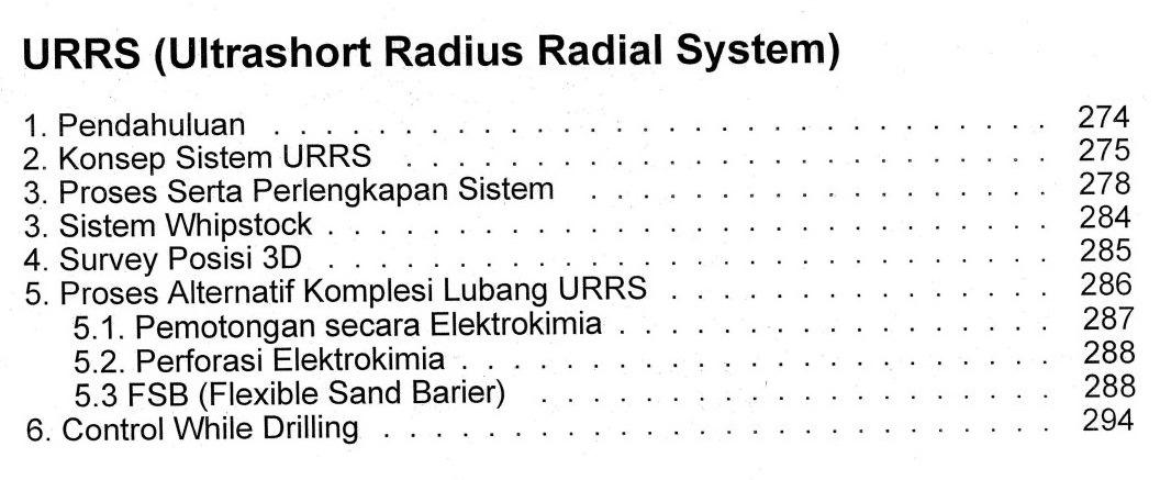 Bab 9 Daftar Isi Buku Teknik Pemboran Horizontal & Multilateral Rudi Rubiandini Terbitan ITB Press